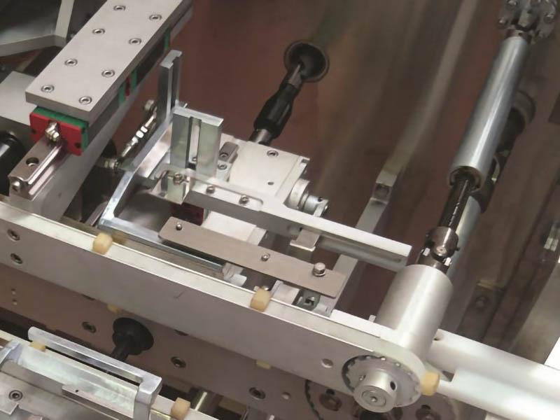 aa-100 compact astucciatrice alternata, dettaglio macchina confezionamento