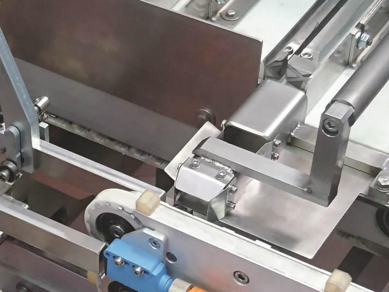 aa-100 compact astucciatrice alternata, dettaglio macchina