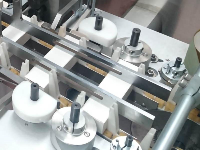 ac-250 compact astucciatrice continua, dettaglio macchina